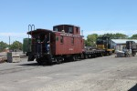 On Sunday, June 13, 2010, Nothern Pacific caboose number 1238 made its first public runs in decades at the Toppenish, Washington yards.